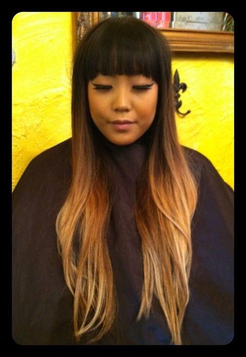 Hairstyling By David Johnson Featuring Heather Dark