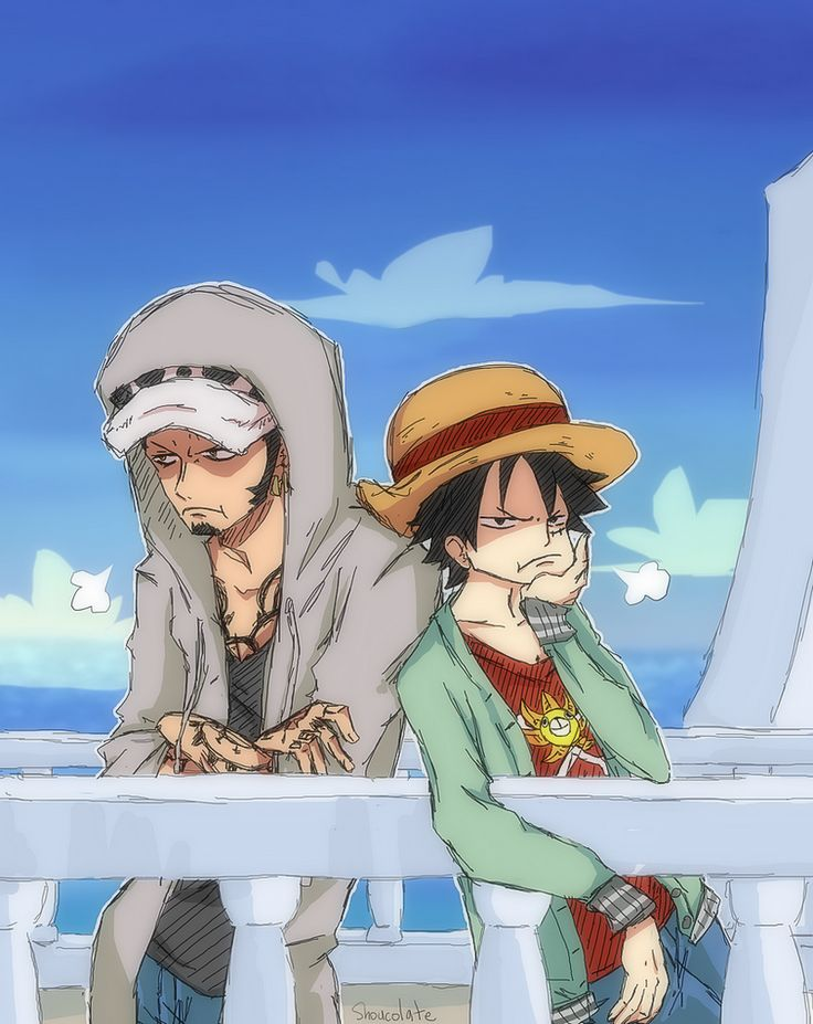 """shouco-minto: """"Pouting captain. They probably got scolded by Nami or something """""""