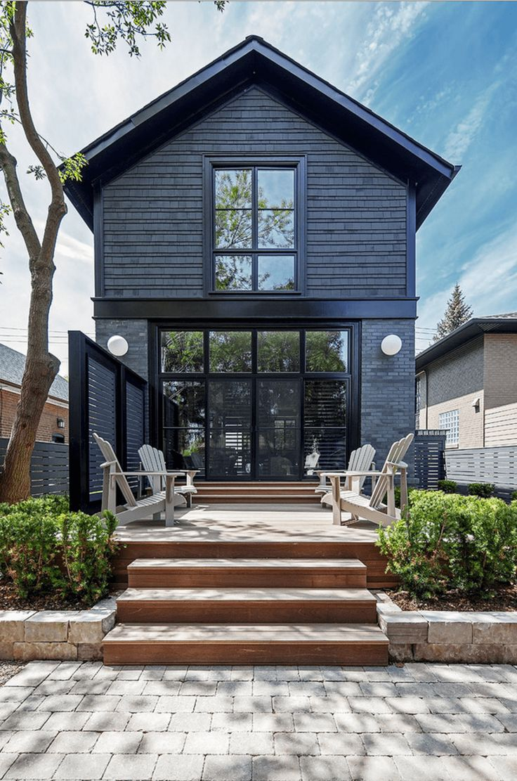 Exterior Of Homes Designs: 25+ Best Ideas About Black Exterior On Pinterest