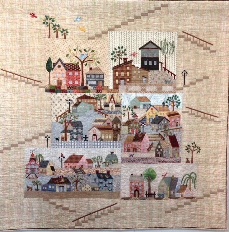 ❤ =^..^= ❤   byannelize : Yoko Saito's Mystery Quilt - 50 Variations