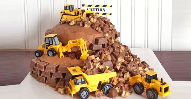 Load up your digger and get ready to dump a whole lot of deliciousness. We've hunted the web and found 12 construction cakes the kids will beg you to bake.
