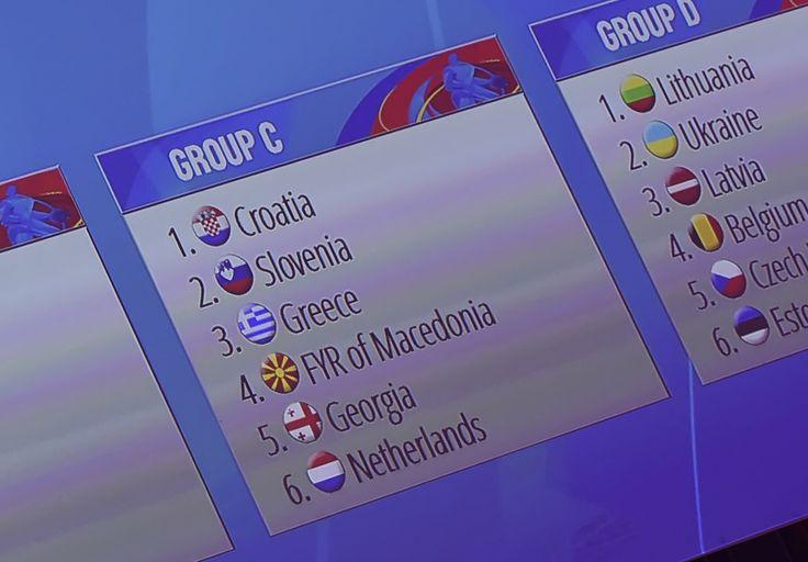 Ο όμιλος της Ελλάδος στο Eurobasket