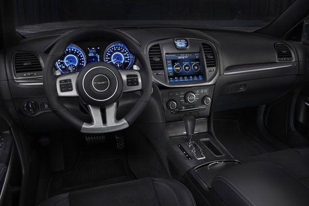 Chrysler 300 SRT8 Interior. Check one out at Beyer Chrysler, BeyerChrysler.com #interior #beyercdjr #newjersey #morristown #chrysler300 #chrysler #srt