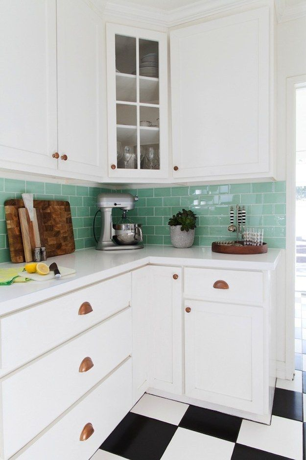 Paint or swap out your cabinet knobs and drawer pulls. | 21 Kitchen Upgrades That You Can Actually Do Yourself