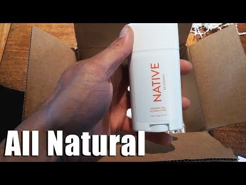 Towel Deadlifts & Stay'n FRESH with Native All Natural Deodorant - YouTube