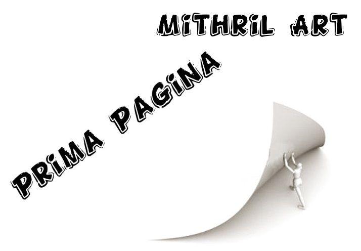 Prima Pagina di Febbraio 2015 - Mithril ArtMithril Art