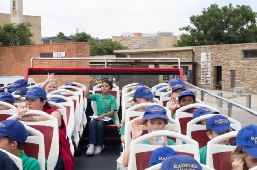 The bus tour is not only a day out. The tour is very educational and is a great tool to help kids learn about South African History. What better place then the Johannesburg the Historically rich city, With places like The Apartheid Museum, The Origins Museum and The Mining District walk, kids can now learn, see and experience the things which they learn about.     The bus helps kids orientate the facts which they have learn and it is done in a fun and new way.