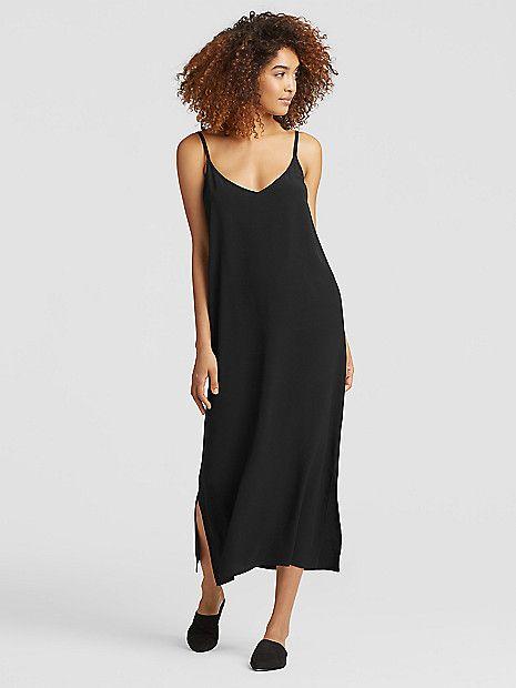 950c60257b Tencel Viscose Crepe Slip Dress