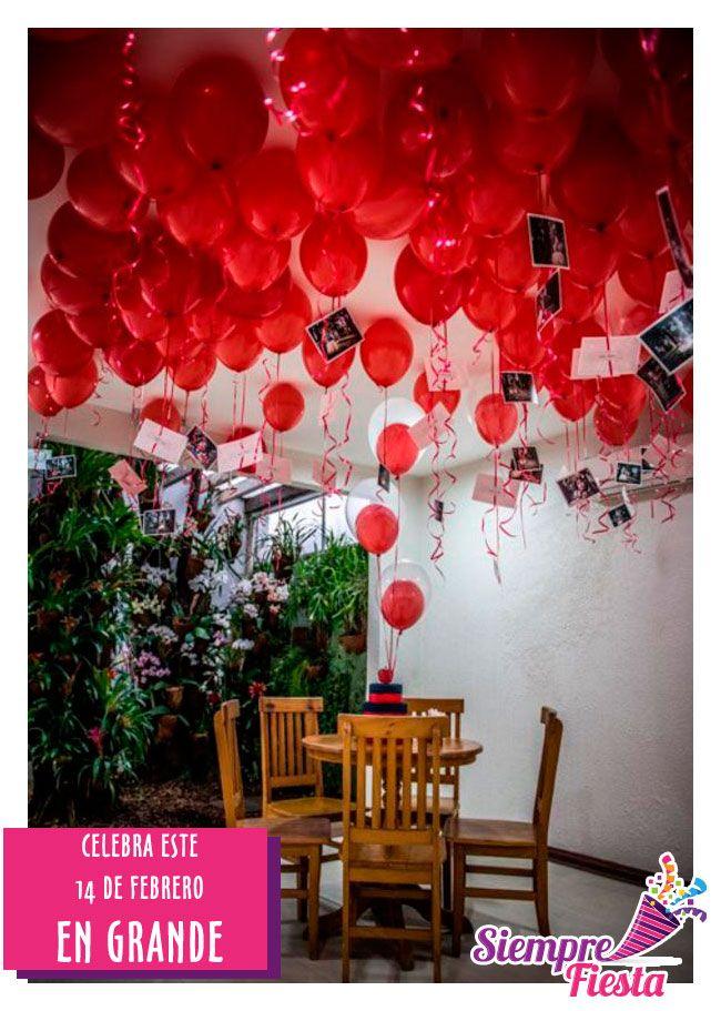 Ideas para Día del Amor y la Amistad - San Valentín. Mira nuestros artículos especiales aquí:  http://www.siemprefiesta.com/fiestas-de-temporada/dia-del-amor-y-la-amistad.html?utm_source=Pinterest&utm_medium=Pin&utm_campaign=Valent%C3%ADn