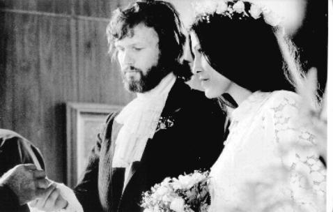 1973 - Kris Kristofferson & Rita Coolidge (m. 1973–1980)