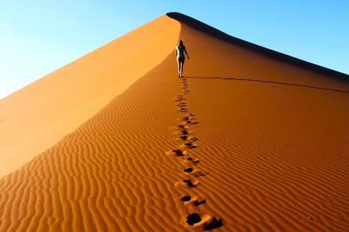 Sossusvlei Dunes at Namib-Naukluft Park | Sesriem, Namibia (Southern Africa)http://ow.ly/dHLE5from @Frommer's Travel