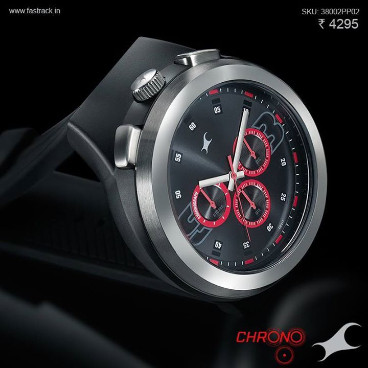 Share the attention with your #Chrono. http://fastrack.in/chronograph/product/38002pp02