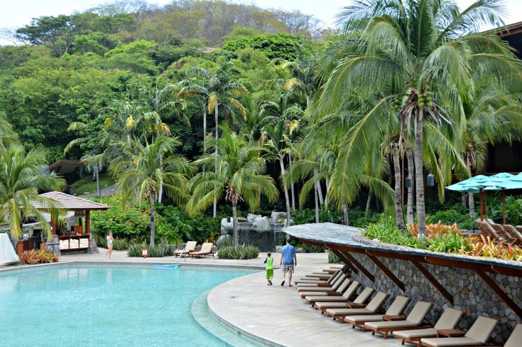 Four Seasons Costa Rica - August is the low season for Costa Rica so resorts are less crowded and you may be able to find good deals