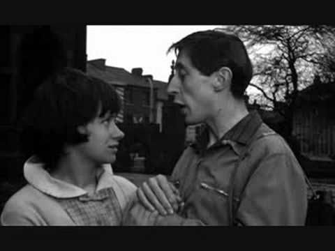Stockport on location: A Taste of Honey, with Rita Tushingham and Murray Melvin.  Directed by Tony Richardson. This scene is in the churchyard of St Mary's Church Stockport.
