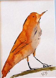 from Watercolor Birds by Richard McKey, Fondren Art Institute, Jackson, MS. [Watercolor]
