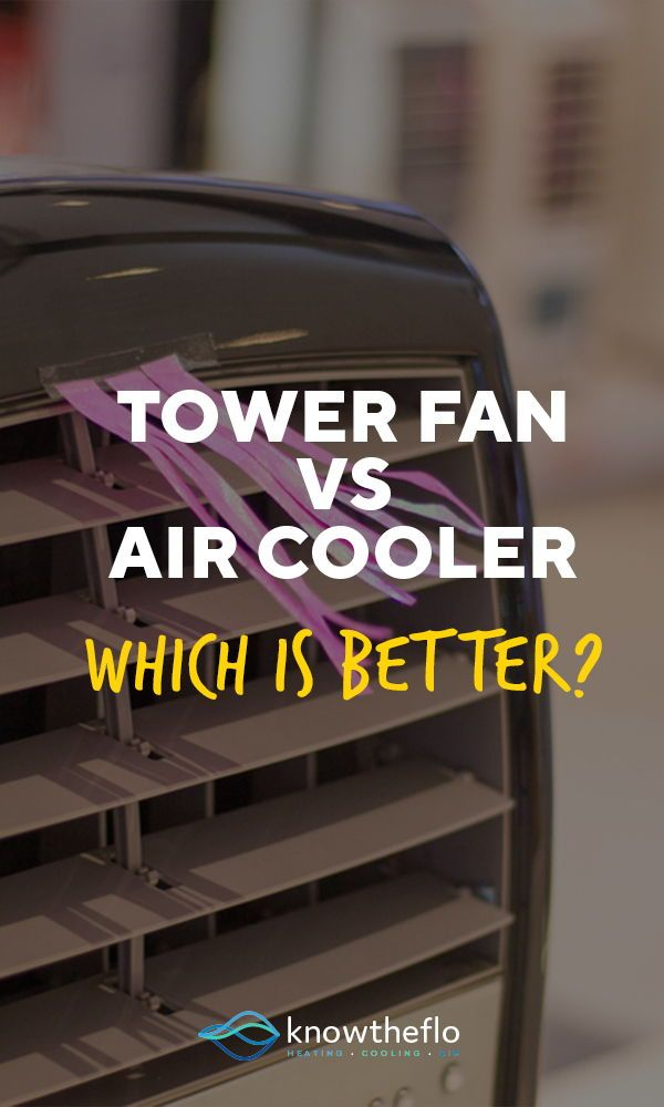Are You Having The Tower Fan Vs Air Cooler Debate Find Out The