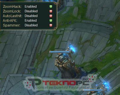 LOL Multihack v3.0 Ekran Görüntüsü
