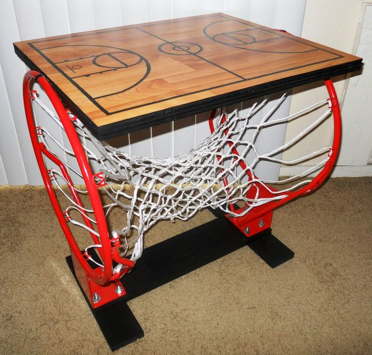 Basketball Table  Designed and built by Kenna Corley. Best 25  Basketball bedroom ideas on Pinterest   Basketball room