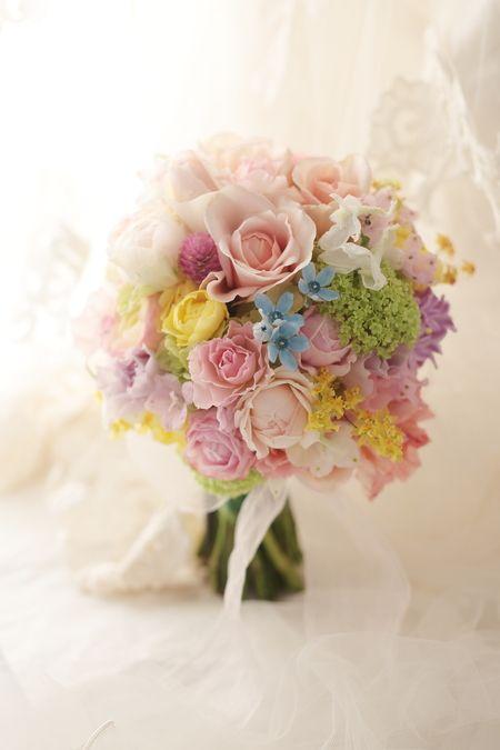 新郎新婦様からのメール とあるホテル様への装花 アプリコットファンデーション : 一会 ウエディングの花