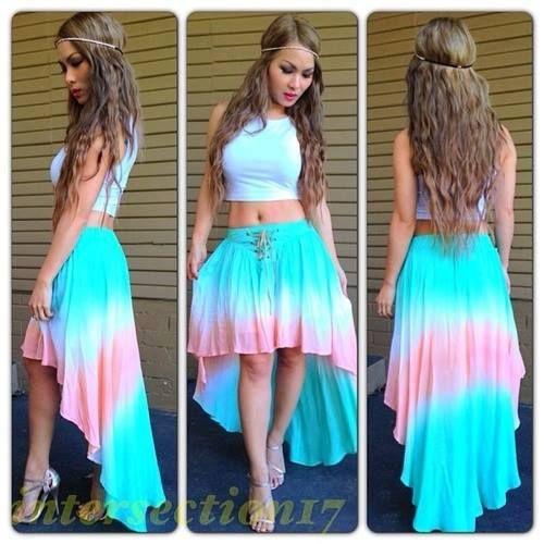 Skirt colors
