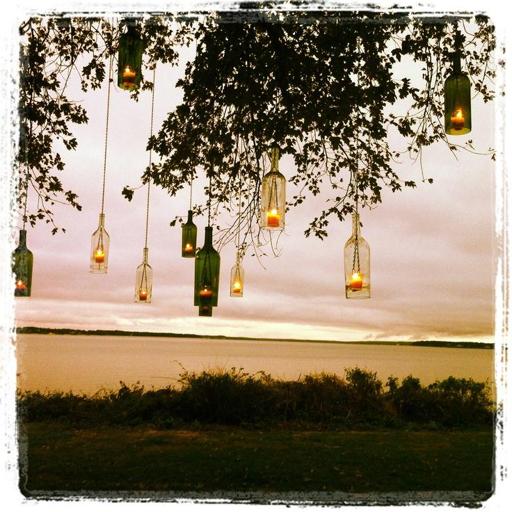 Best 25 Wine Bottle Lanterns Ideas On Pinterest Diy