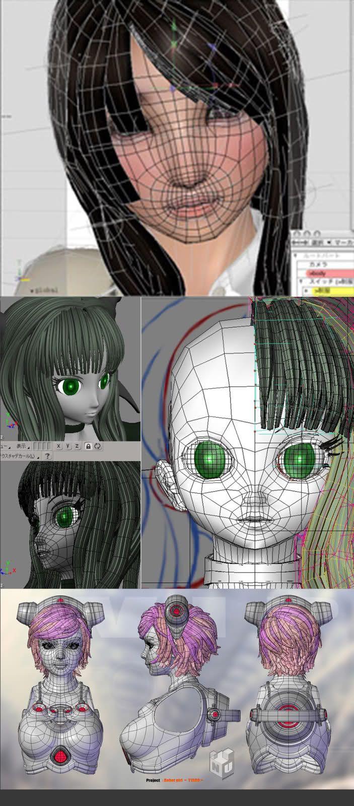 Japanese Modeling technique
