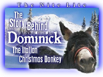 Christmas - The Story Behind Dominic The Christmas Donkey