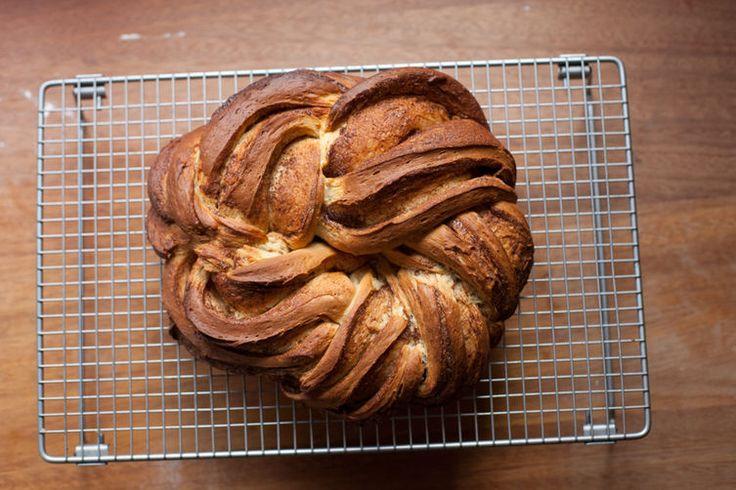 Cinnamon-Cardamon Kringel Bread