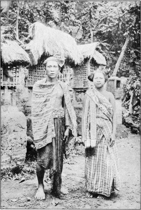 Man and Wife of a Balinese Village in the Dutch East Indies