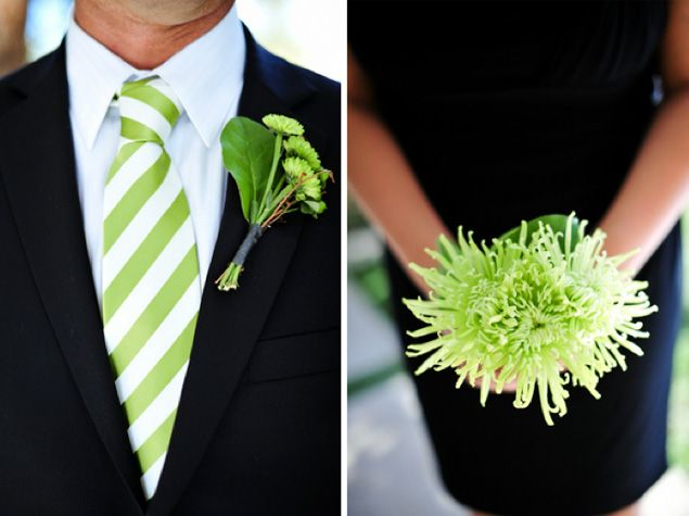 Lime Green Wedding Inspiration PHOTO SOURCE • JAMIEY PHOTOGRAPHY   Featured on WedLoft