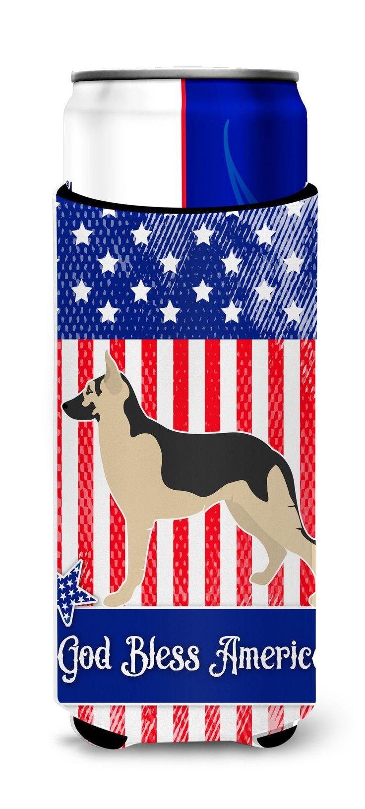 German Shepherd American Michelob Ultra Hugger for slim cans BB8411MUK