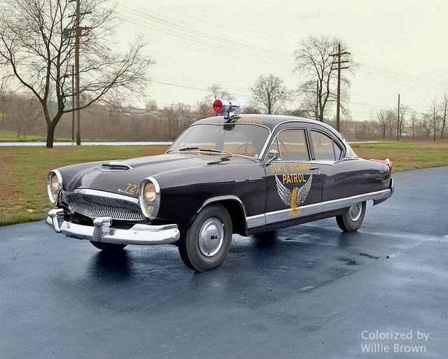 1954 Kaiser Manhattan B W Photo I Colorized Flickr