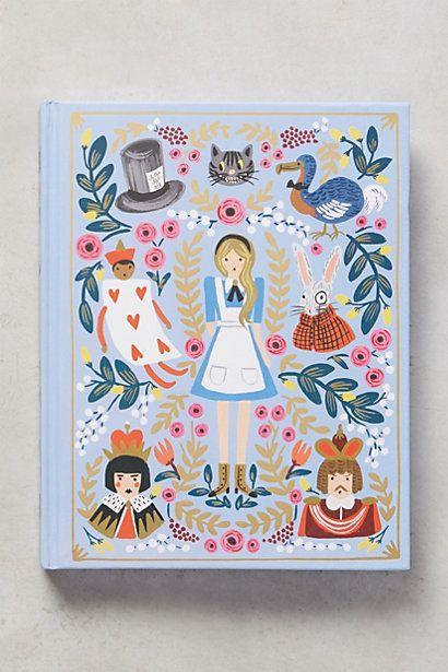 Alice's Adventures In Wonderland #anthropologie