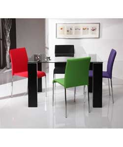Buy Espirit Dining Table and 4 Multicoloured Chairs at Argos.co.uk, visit Argos.co.uk to shop online for Dining sets