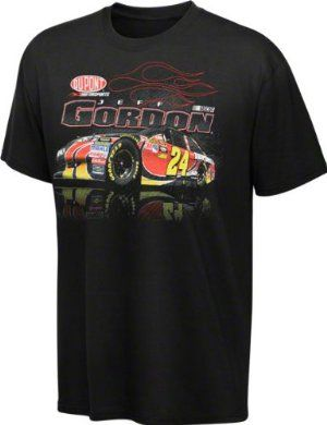 Jeff Gordon Youth #24 Flames T-Shirt by The Game. $19.99. Screen print graphics. Jeff Gordon Youth #24 Flames T-Shirt. Officially licensed NASCAR merchandise. 100% Cotton. Jeff Gordon Youth #24 Flames T-Shirt