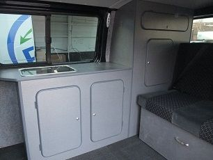 Convert Your Van Ltd - VW Caravelle Camper Conversion and Furniture Kits
