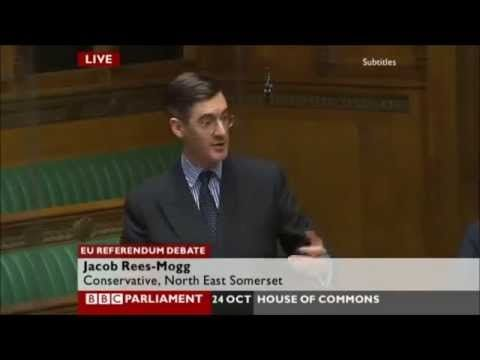 Jacob Rees Mogg MP savages Mark Carney, Governor of the Bank of England over Brexit figures - YouTube. ATTENTION CANADA !!!!!!! Thanks a bunch for sending us this guy. No wonder you got rid of him. He's getting something like £800,000 a year out of us I believe and all he can do is insult us with his EUrophile views. Please offer him a job back there. Don't send us anything like this again; send it to the EU instead!!!!! jp.