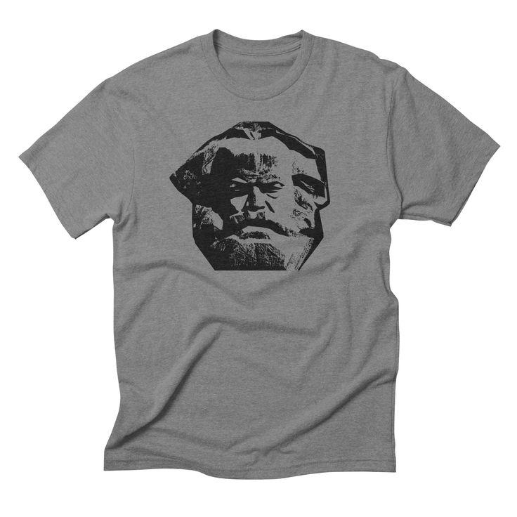 Karl Marx by Hlava t-shirt design $33 https://hlava.threadless.com/collections/karl-marx/ #hlava #karlmarx