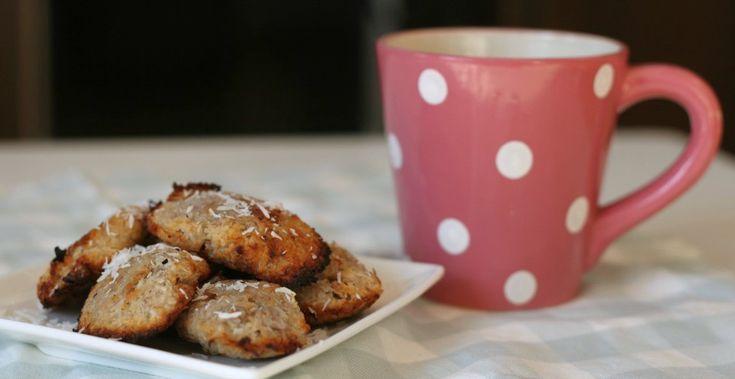 Gezonde koekjes met banaan en kokos