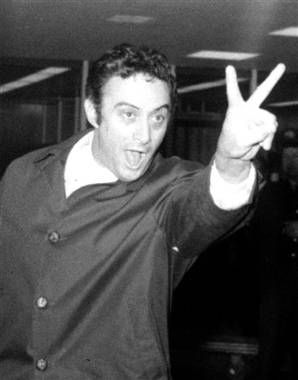 Lenny Bruce (1925-1966). Comedian. Died August 3rd, 1966, from acute morphine poisoning caused by accidental heroin overdose.