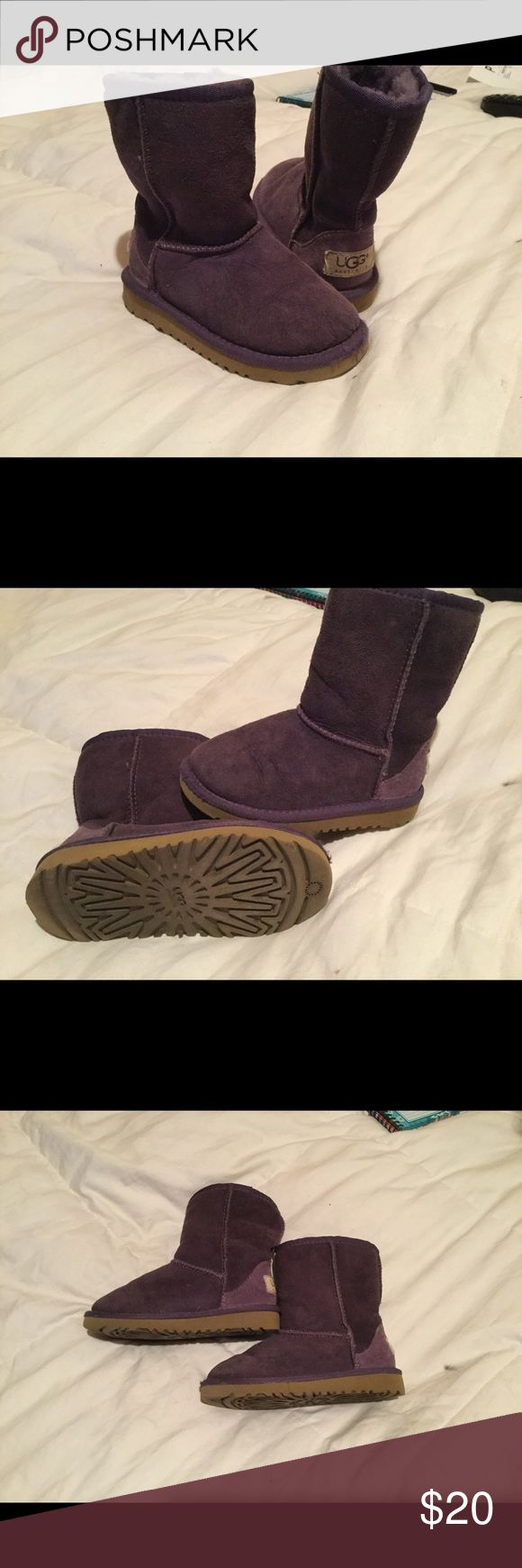 Girls UGG Boots Excellent condition, lightly used, Girls UGG boots. Plum purple color, size 10 UGG Shoes Boots