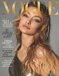March 01, 2018 issue of British Vogue. Available now at WCL via RB Digital.