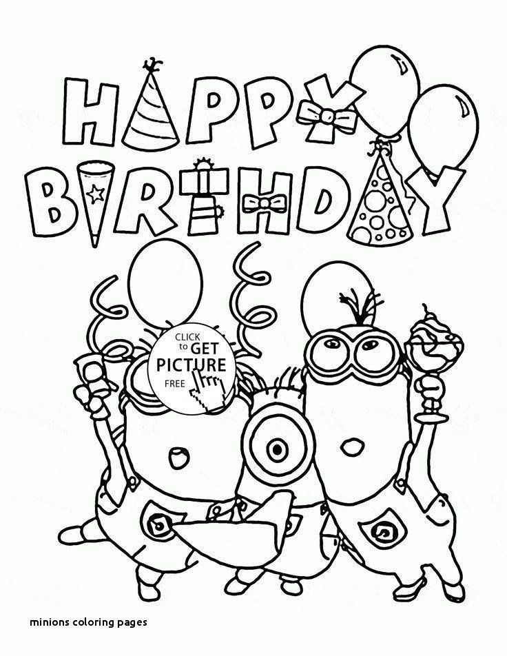 Minion Coloring Pages Pdf Shocking Coloring Pages Despicable Me For Girls Picolour Birthday Coloring Pages Happy Birthday Coloring Pages Minions Coloring Pages