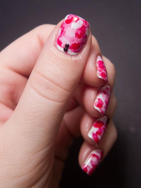 31dc2012 Day 10 Gradient Nails: 20 Melhores Imagens De Unhas Decoradas Vermelho No