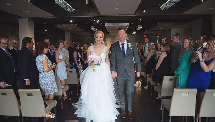 Wedding Ceremony at Arcadian Loft #Wedding #Ceremony  #Toronto #TorontoWedding | Photo: http://www.christinecousinsphotography.com/