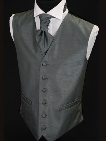 charcoal grey wedding suits - Love the Tie...needs to be Purple though...