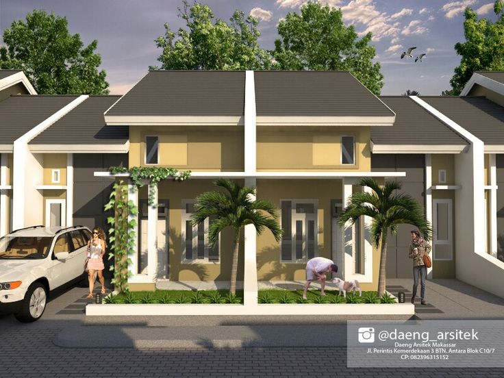 Desain Mimalis Rumah tipe 45