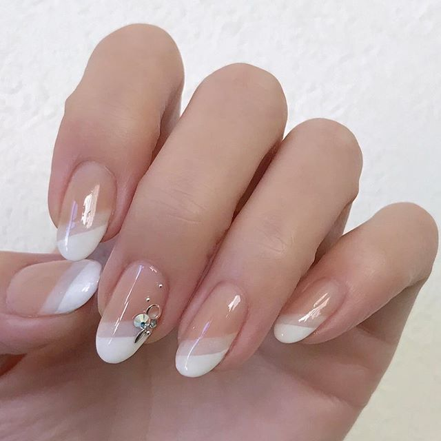I would put lace by stamping above the white. Maybe in a light pink