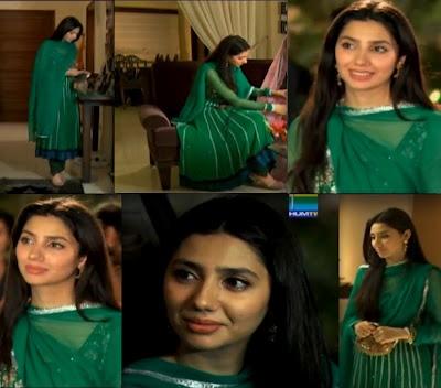 My fav dress Khirad wears in Humsafar <3