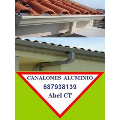 Canalones de aluminio en lorca 687938139 alcantarilla - Fontaneros en elche ...